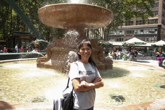 Yong Lay - Bryant Park Fountain