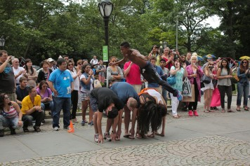 Central Park NYC Street Performers