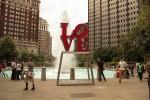 Love Park Sign