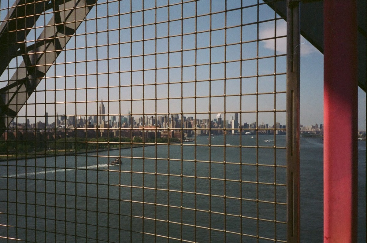 Williamsburg Bridge Skyline 35mm Film
