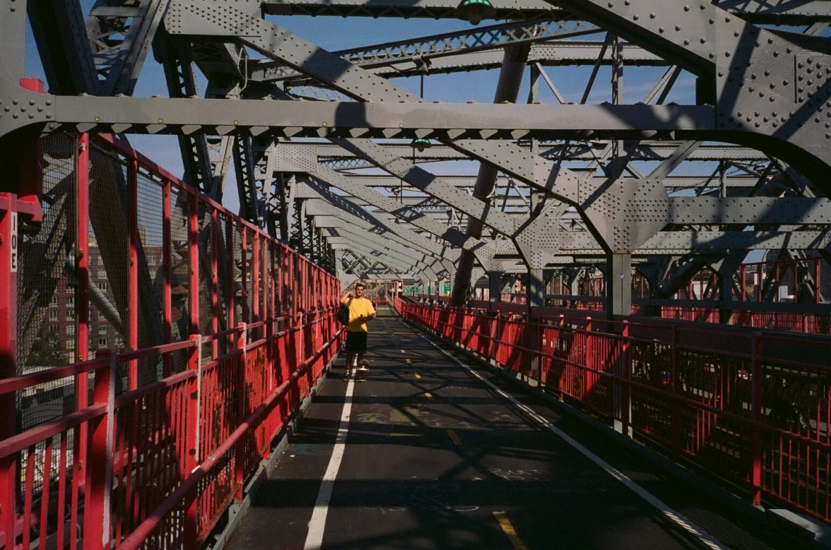 Williamsburg Bridge 35mm Film