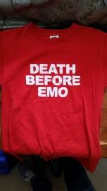 DeathBeforeEmoShirt