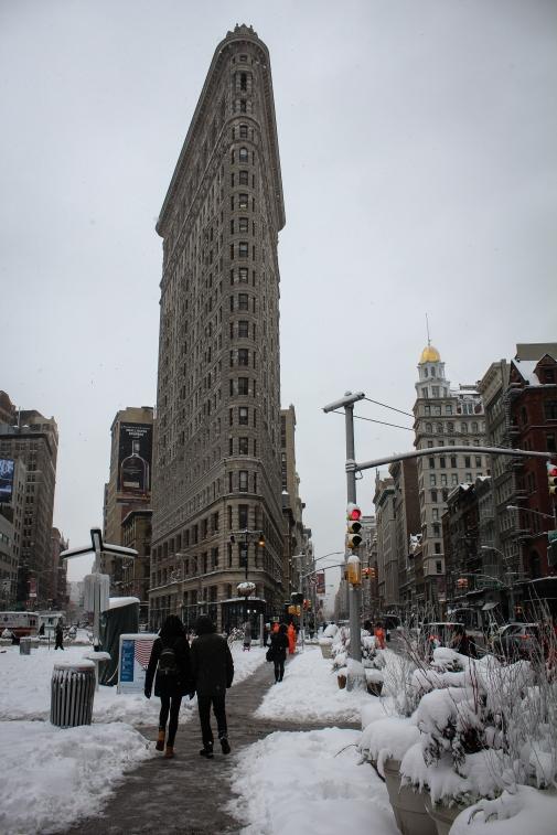 flatiron-nyc-snow