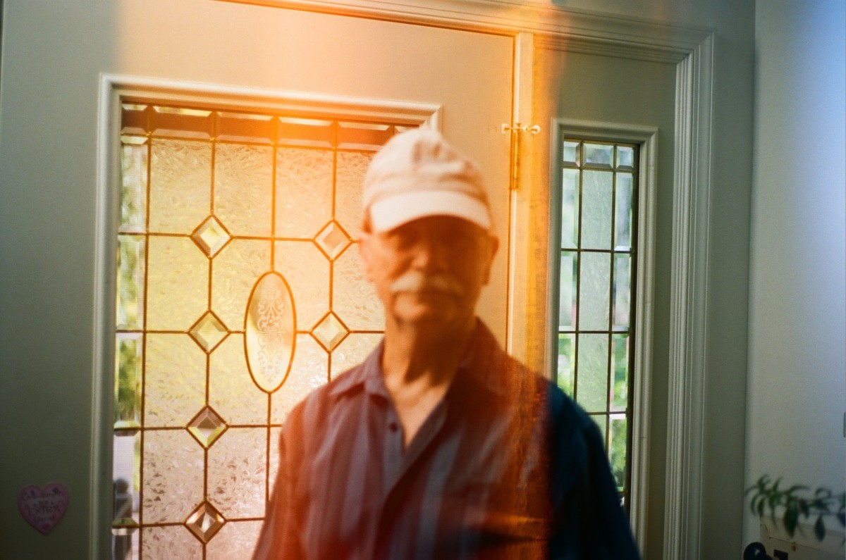 Grampy Portrait 35mm
