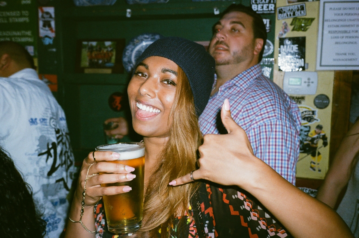 Lenah Boston Bar Portrait