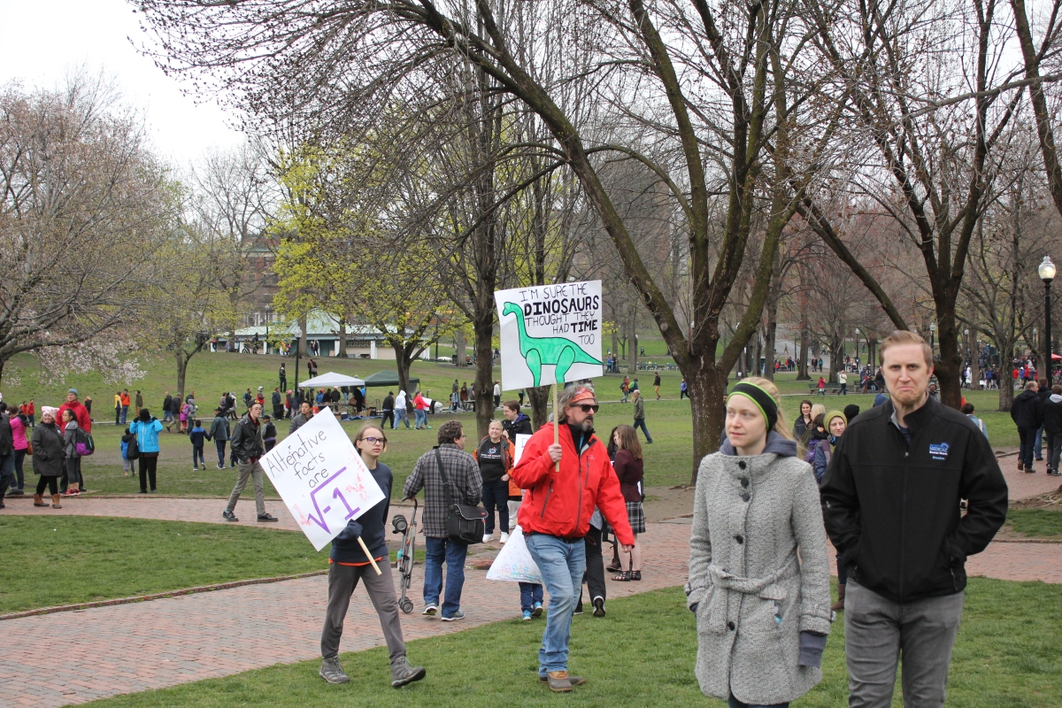 BostonScienceMarchDinosaurs