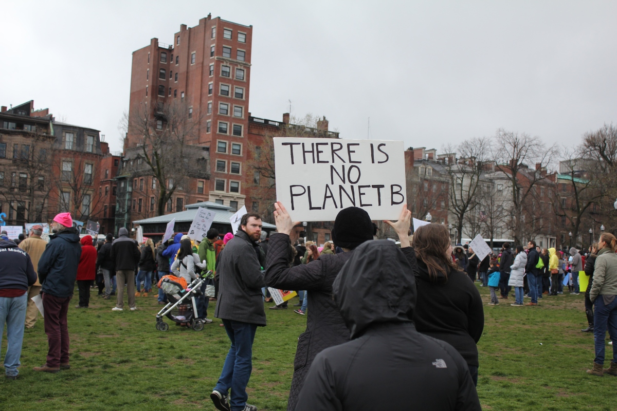 BostonScienceMarchNoPlanetB