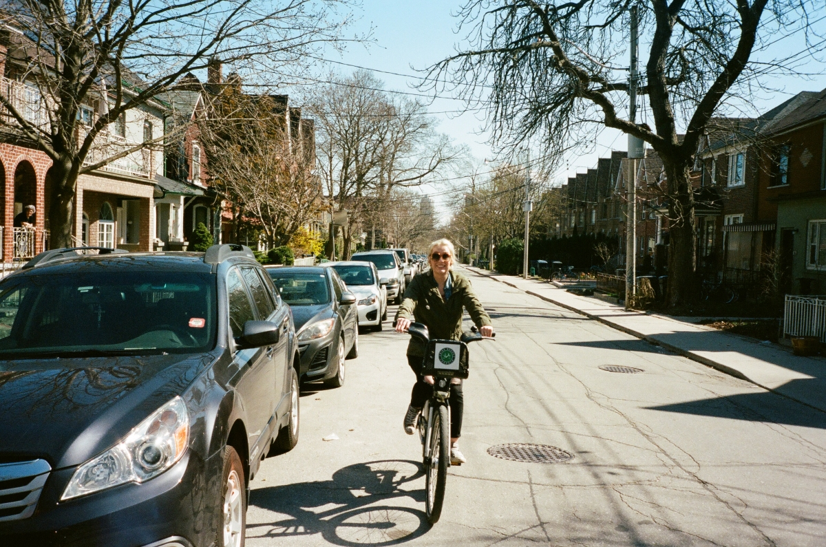 Abigail Bike - Toronto, CA 35mm