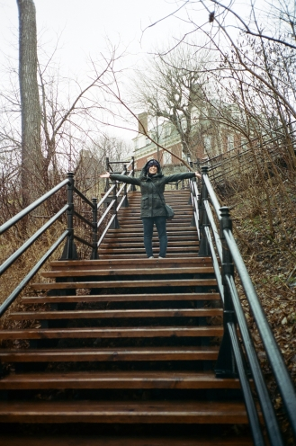 Abigail Stairs Montreal CA 35mm
