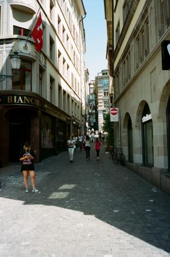 Alleyway - Zürich, Switzerland
