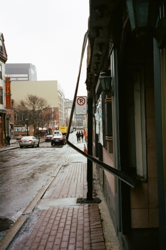 Bent Sign Montreal CA 35mm