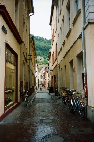 Bike Alleyway - Heidelberg, Germany