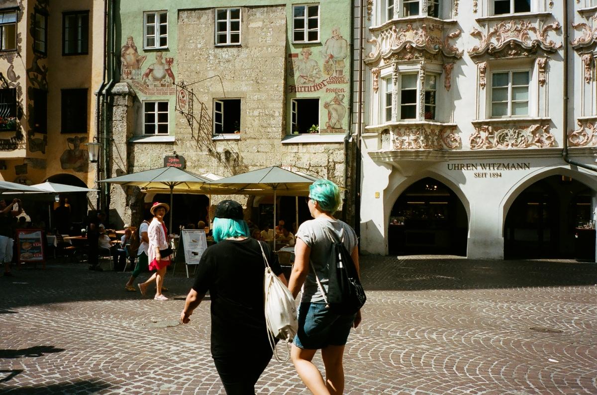 Blue Hair - Innsbruck, Austria