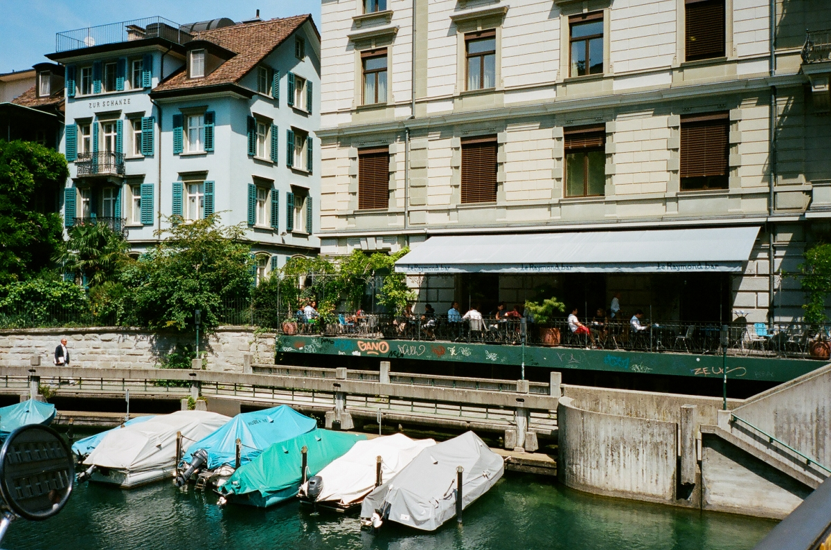 Boat Dining - Zürich, Switzerland