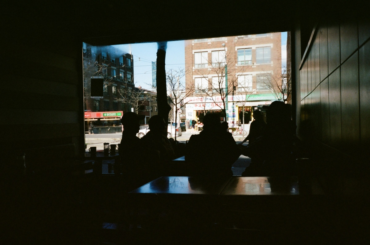 Cafe - Toronto, CA 35mm