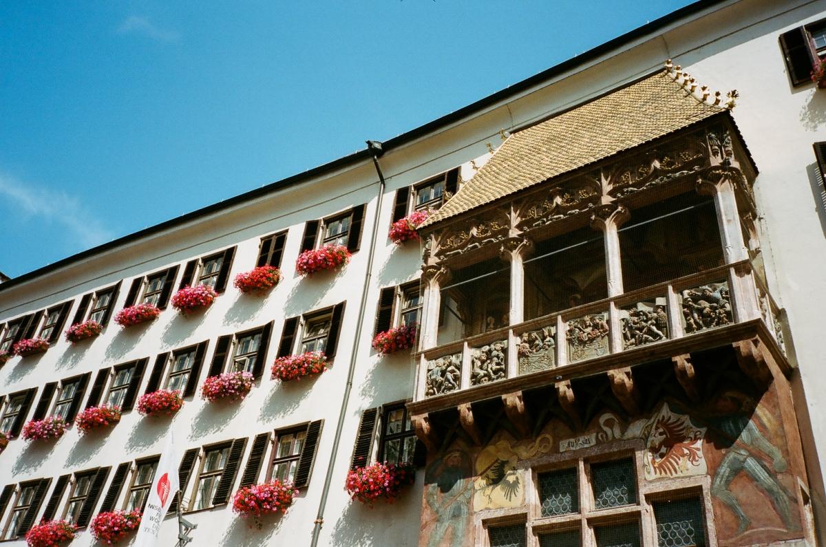 Christmas Market Roof -Innsbruck, Austria