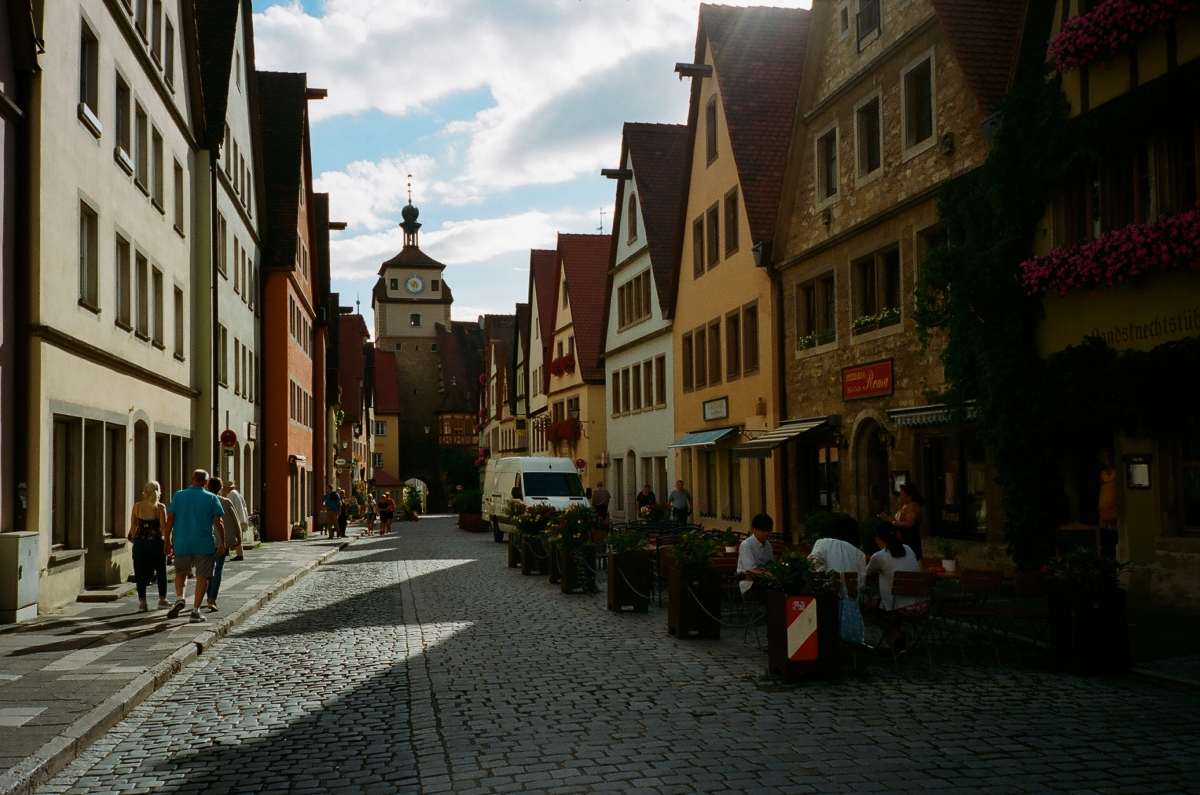 Downtown - Rothenburg ob der Tauber, Germany