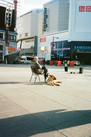 Man & Dog Toronto 35mm