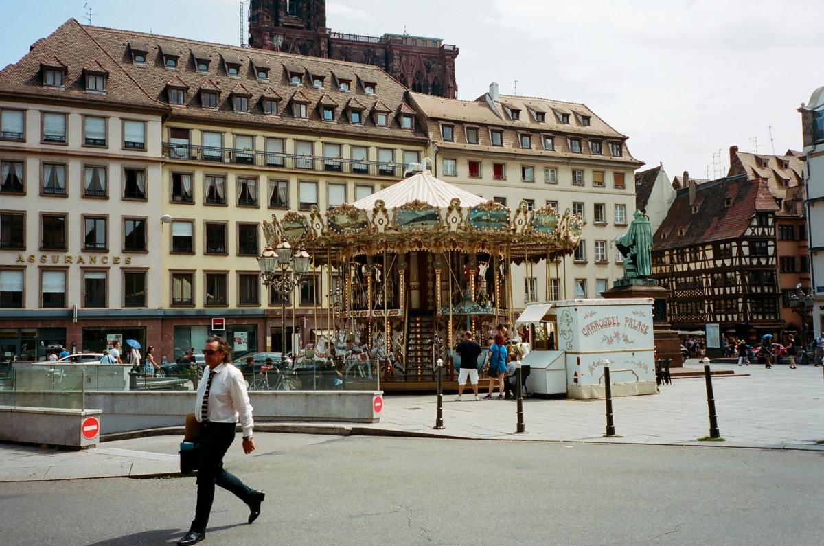 Merry Go Round - Strasbourg, France