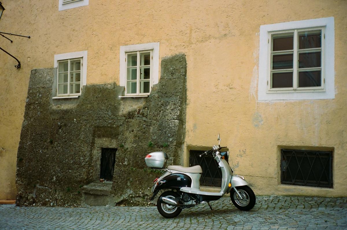 Moped - Salzburg, Austria