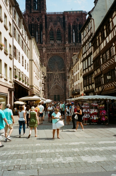 Notre Dame Catherdral - Strasbourg, France