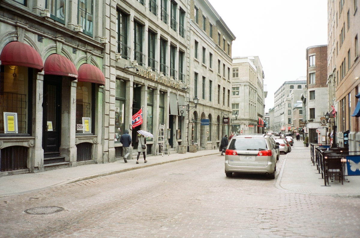 Old Downtown Montreal CA 35mm
