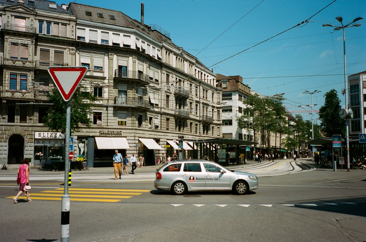 Paradeplatz Intersection - Zürich, Switzerland
