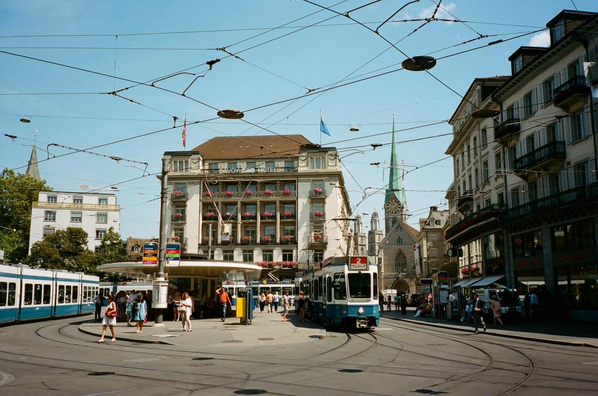 Paradeplatz - Zürich, Switzerland