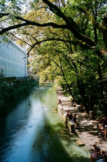 Riverwalk - Zürich, Switzerland