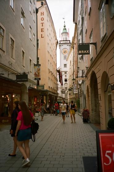 Shopping Alleyway - Salzburg, Austria