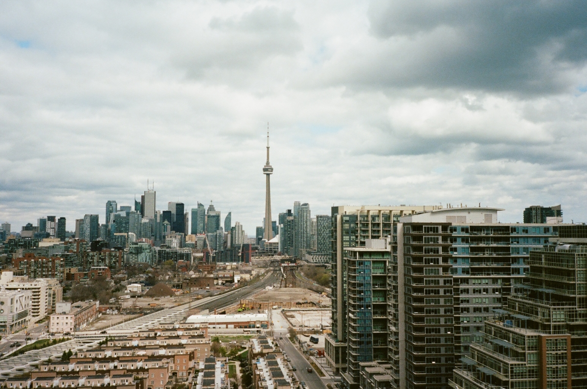 Skyline Toronto, CA 35mm