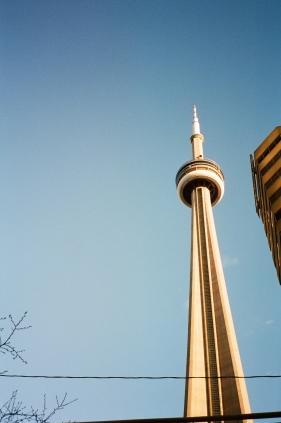 Space Needle Toronto CA 35mm