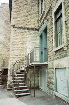 Stairs Montreal CA 35mm