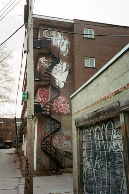 Stairwell 2 Montreal 35mm