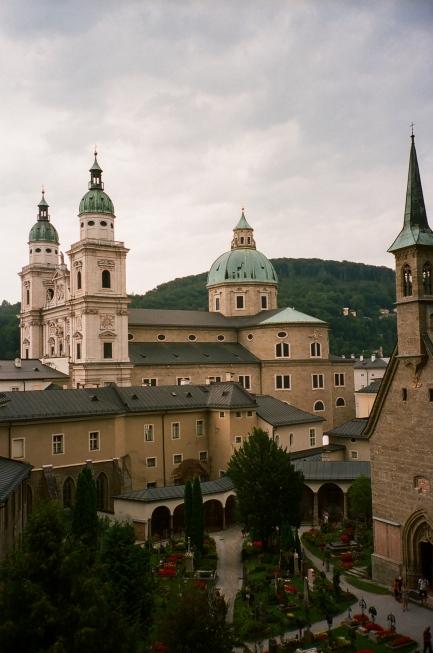 Stiftskirche Sankt Peter Salzburg - Salzburg, Austria
