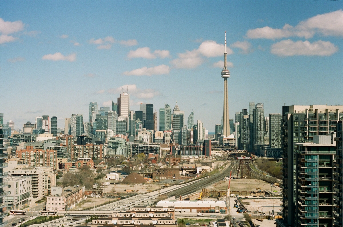 Toronto Skyline CA 35mm