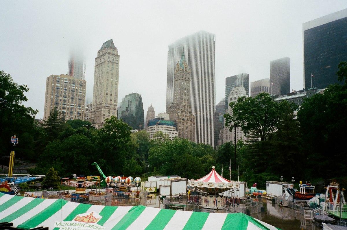 Central Park Rain-1